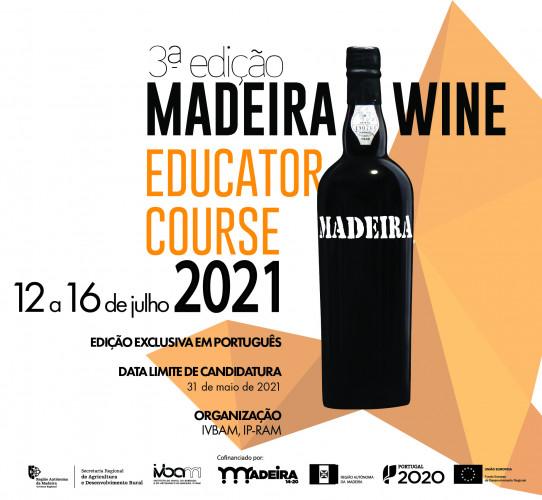 Madeira Wine Educator Course 3ª Edição